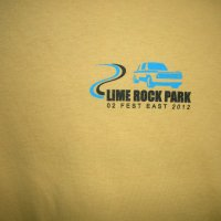 Lime Rock 2012 Shirt - Front